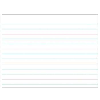 Handwriting Paper Laminated Chartlet By Carson Dellosa