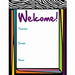 Wild Style Welcome Chart By Carson Dellosa