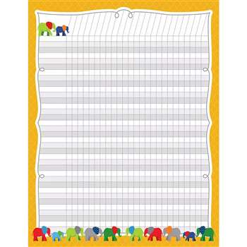 Parade Of Elephants Incentive Chart, CD-114202