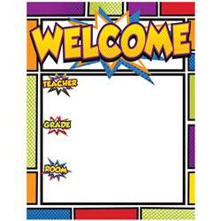 Super Power Welcome Chartlet, CD-114205