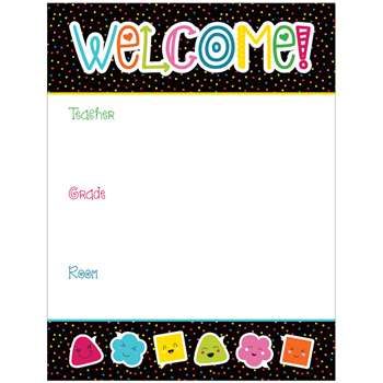 School Pop Welcome Chartlet, CD-114207