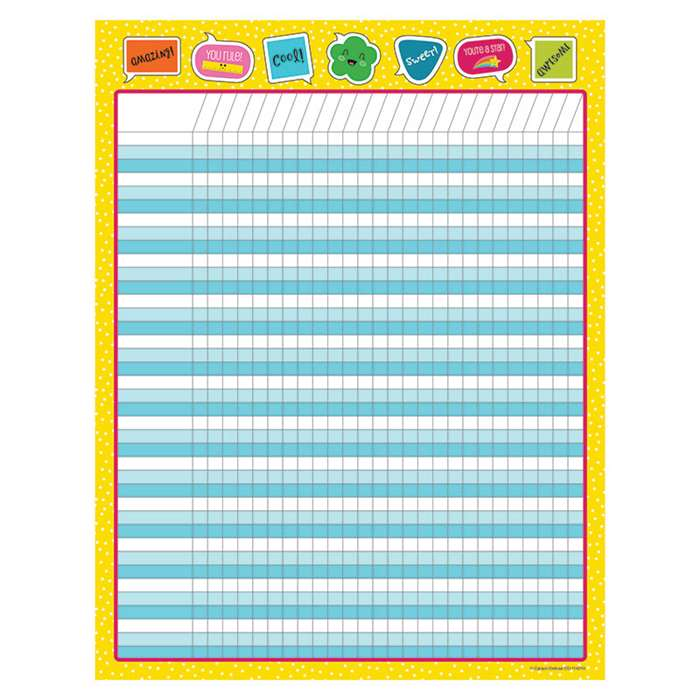 School Pop Incentive Chart, CD-114210