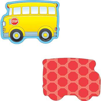 School Buses Mini Cutouts By Carson Dellosa