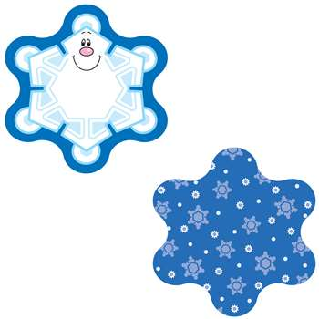 Mini Cut-Outs Snowflakes Single Design By Carson Dellosa