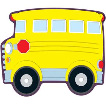 School Bus Accents By Carson Dellosa
