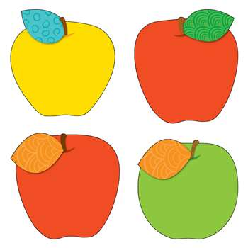 Apples Cut Outs By Carson Dellosa