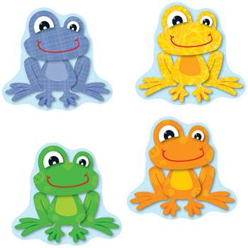 Funky Frogs Cut Outs By Carson Dellosa