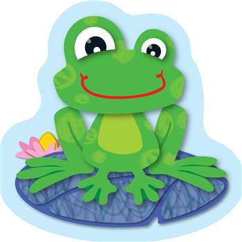 Funky Frogs Mini Cut Outs By Carson Dellosa