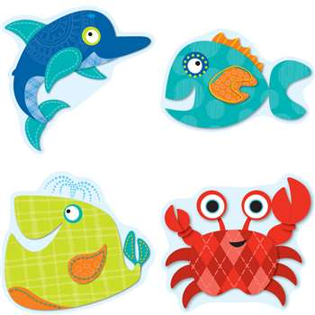 Shop Seaside Splash Cut Outs - Cd-120142 By Carson Dellosa