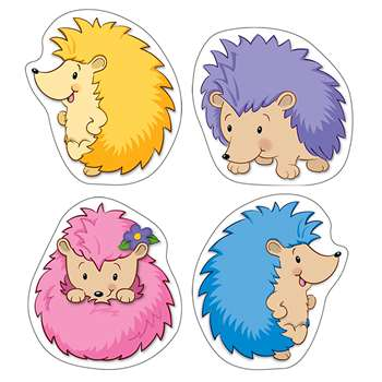 Happy Hedgehogs Colorful Cut Outs, CD-120167