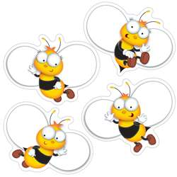 Buzz-Worthy Bees Colorful Cut Outs, CD-120168