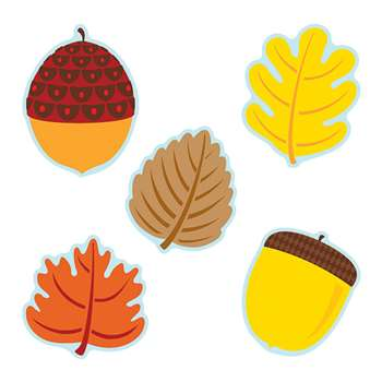 Leaves & Acorns Cut Outs, CD-120174