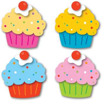 Cupcakes Cut Outs, CD-120196