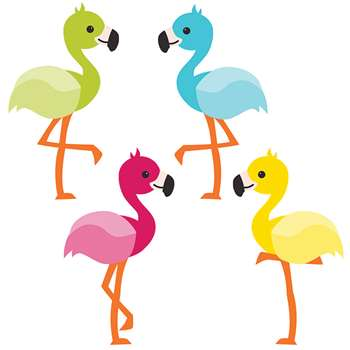 School Pop Flamingos Cut Outs, CD-120211