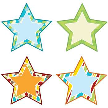 Hipster Stars Cut Outs, CD-120213