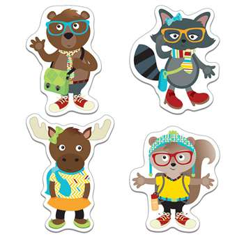 Hipster Pals Cut Outs, CD-120214