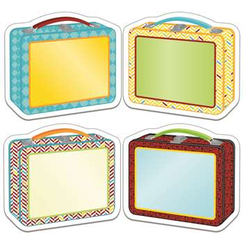 Hipster Lunch Boxes Cut Outs, CD-120215