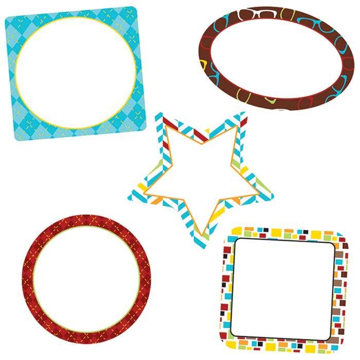 Hipster Frames Cut Outs, CD-120216