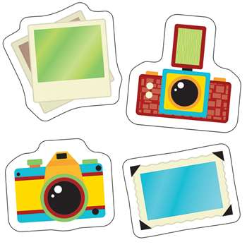 Hipster Cameras And Photos Cut Outs, CD-120217