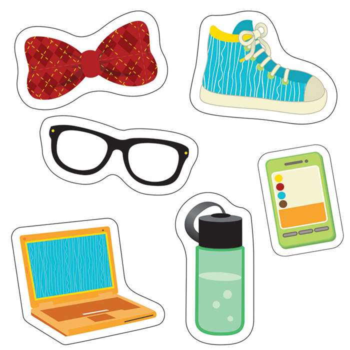 Hipster Gear Cut Outs, CD-120218