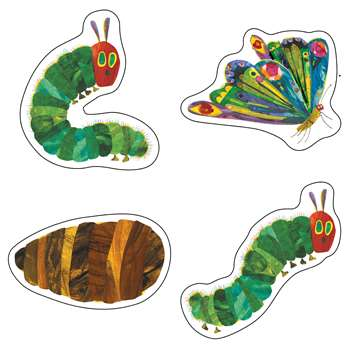 Shop The Very Hungry Caterpillar 45Th Anniversary Cut Outs - Cd-120496 By Carson Dellosa