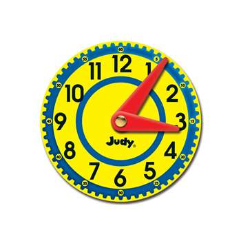Judy Clocks Colorful Cut Outs Gr K-2, CD-120506