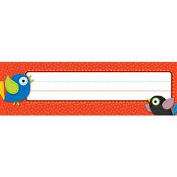 Boho Birds Nameplates, CD-122034