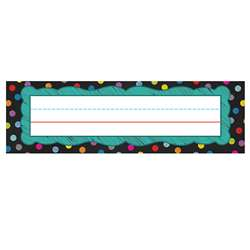 Colorful Chalkboard Nameplates, CD-122035