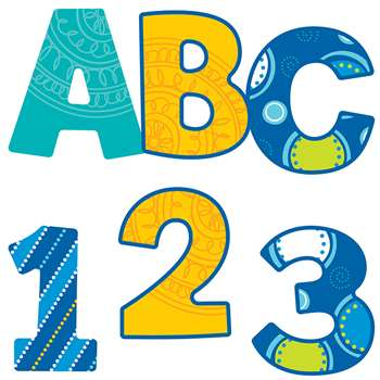 Shop Bubbly Blues Ez Letters 76 Pc - Cd-130051 By Carson Dellosa