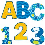 Shop Bubbly Blues Ez Letters 152 Pcs - Cd-130052 By Carson Dellosa