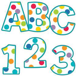Shop Color Me Bright Ez Letters 76 Pc - Cd-130053 By Carson Dellosa