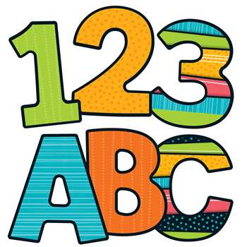 Stylin Stripes Ez Letters Gr Pk-12, CD-130061