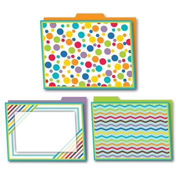 Shop Color Me Bright Folders 6Pk - Cd-136003 By Carson Dellosa