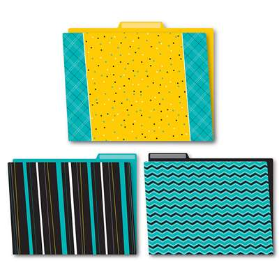 Shop Black White & Bold Folders 6Pk - Cd-136005 By Carson Dellosa