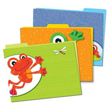 Funky Frogs Folders, CD-136008