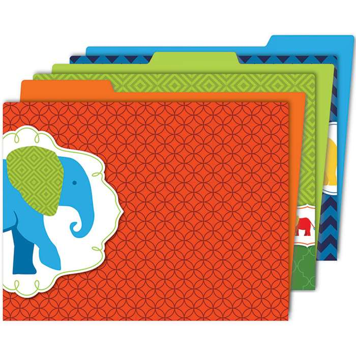 Parade Of Elephants Folder, CD-136010