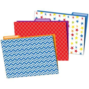 Super Power File Folders, CD-136011