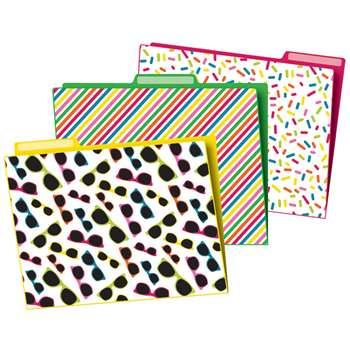 School Pop File Folders, CD-136013
