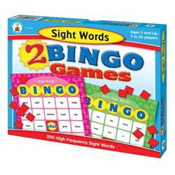 Sight Words Bingo By Carson Dellosa
