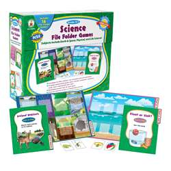 Science File Folder Games Grade K-1 By Carson Dellosa