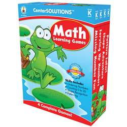 Math Learning Games K Centersolutions By Carson Dellosa