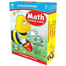 Math Learning Games 2 Centersolutions By Carson Dellosa