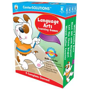 Language Arts Learning Games K Centersolutions By Carson Dellosa