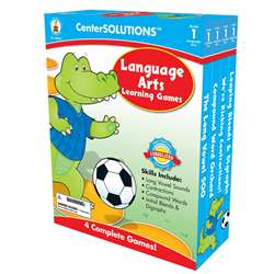 Language Arts Learning Games 1 Centersolutions By Carson Dellosa