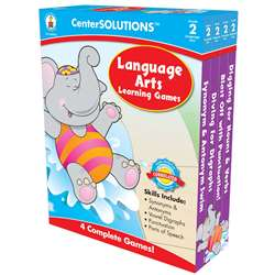 Language Arts Learning Games 2 Centersolutions By Carson Dellosa