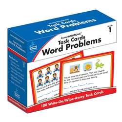 Task Cards Word Problems Gr 1, CD-140101