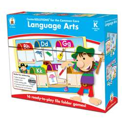 Language Arts Game Gr K By Carson Dellosa