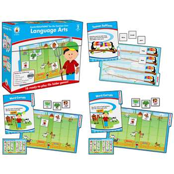 Language Arts Game Gr 2 By Carson Dellosa