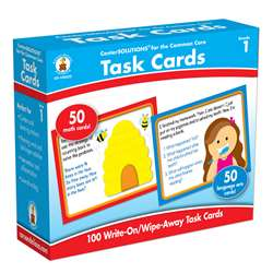 Center Solutions Task Cards Gr 1 By Carson Dellosa