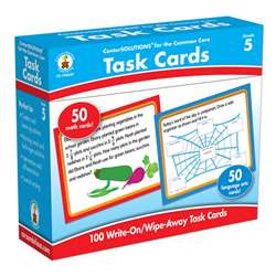 Center Solutions Task Cards Gr 5 By Carson Dellosa